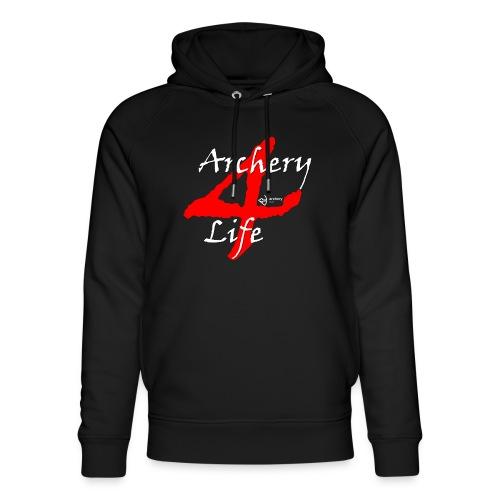 Archery4Life white - Unisex Bio-Hoodie von Stanley & Stella