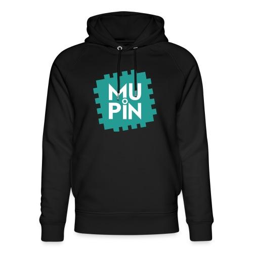 Logo Mupin quadrato - Felpa con cappuccio ecologica unisex di Stanley & Stella