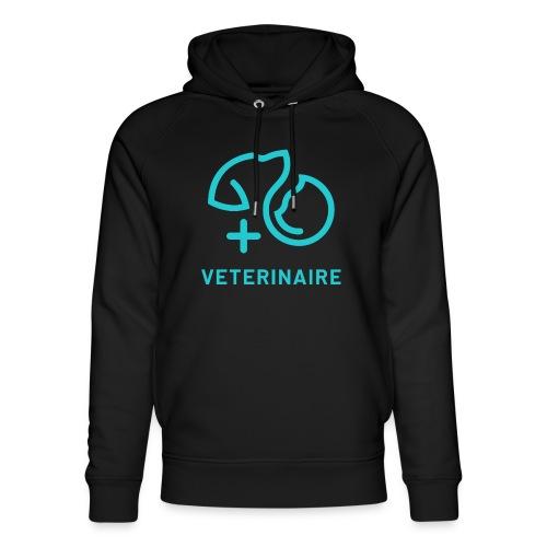 Vétérinaire, un métier qui a son importance - Sweat à capuche bio Stanley & Stella unisexe