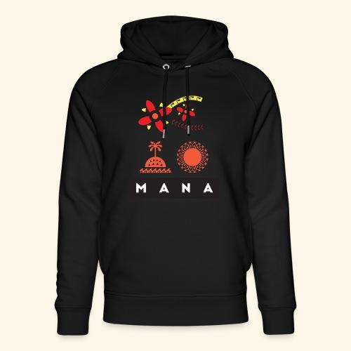 Mana Surf Sun Sea Flowers and Love by Te-Moana - Unisex Bio-Hoodie von Stanley & Stella