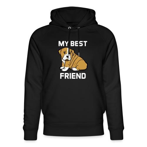 My Best Friend - Hundewelpen Spruch - Unisex Bio-Hoodie von Stanley & Stella