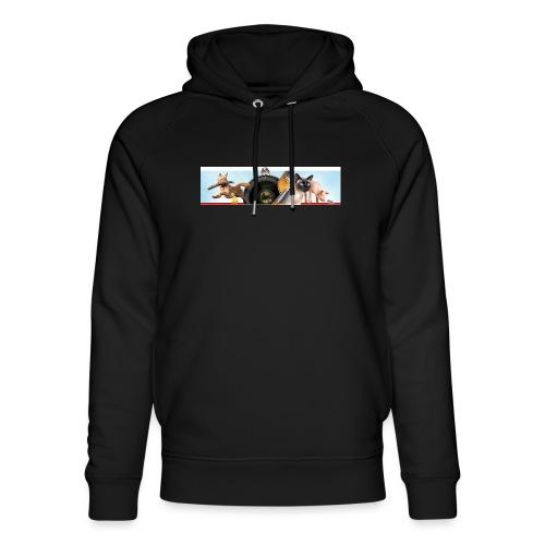 Animaux logo - Uniseks bio-hoodie van Stanley & Stella