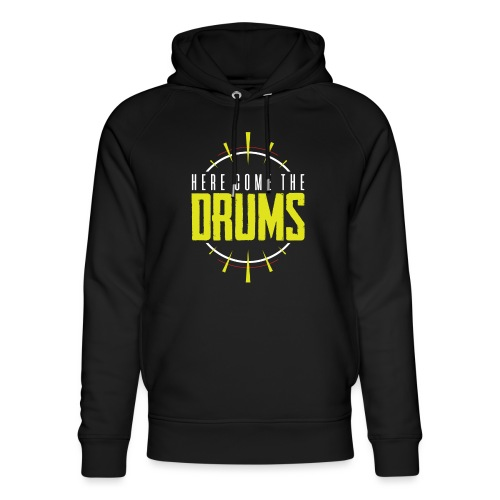 Here come the drums - Unisex Organic Hoodie by Stanley & Stella