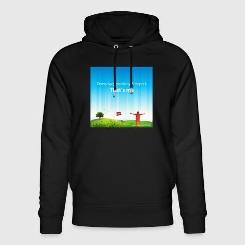 Rolling hills tshirt - Stanley & Stella unisex hoodie af økologisk bomuld