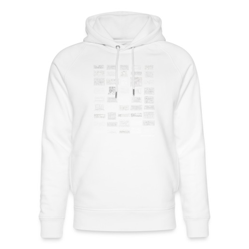 Synth Evolution T-shirt - Black - Unisex Organic Hoodie by Stanley & Stella