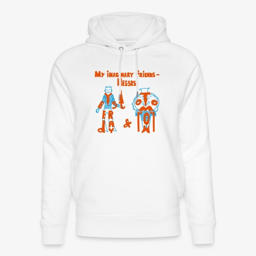My imaginary friends T-shirt - Unisex Bio-Hoodie von Stanley & Stella