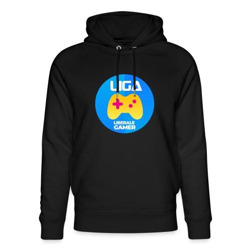 Liberale Gamer Wappen - Unisex Bio-Hoodie von Stanley & Stella