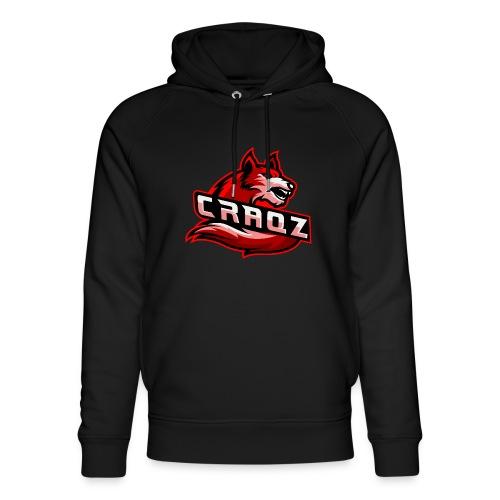 Craqz logo - Stanley & Stella unisex hoodie af økologisk bomuld
