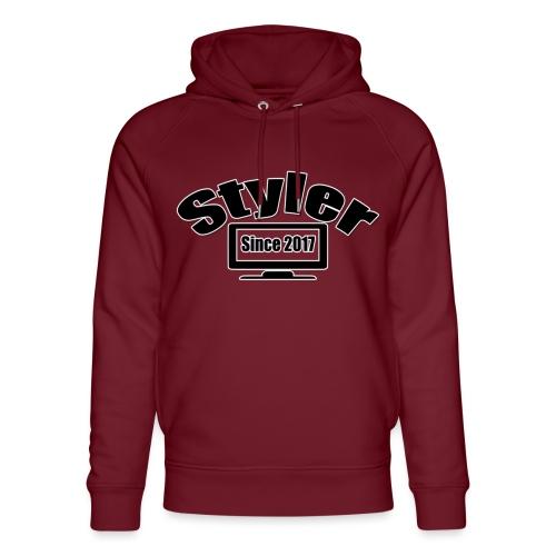 Styler Designer Kleding - Uniseks bio-hoodie van Stanley & Stella