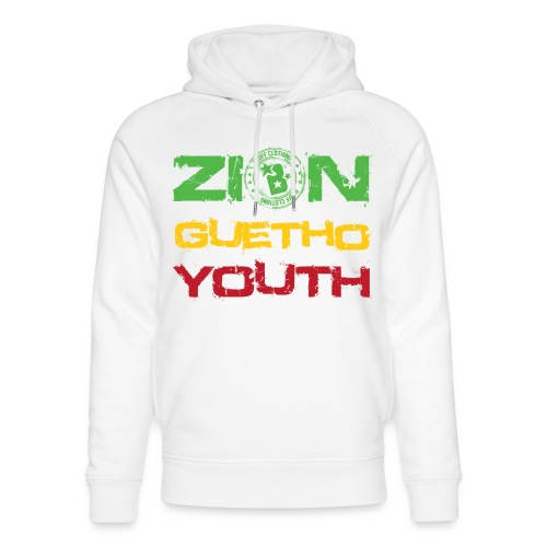 Zion Guetho Youth - Sudadera con capucha ecológica unisex de Stanley & Stella