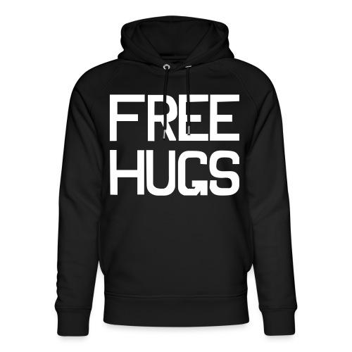 FREE HUGS - Uniseks bio-hoodie van Stanley & Stella