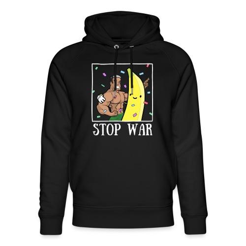 Stop War Banane Musculation - Sweat à capuche bio Stanley & Stella unisexe