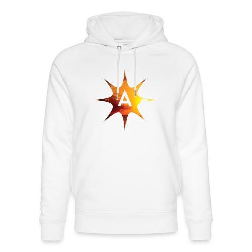Sunshine Hoodie White - Ekologiczna bluza z kapturem typu unisex Stanley & Stella