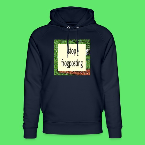 Frogposter - Unisex Organic Hoodie by Stanley & Stella