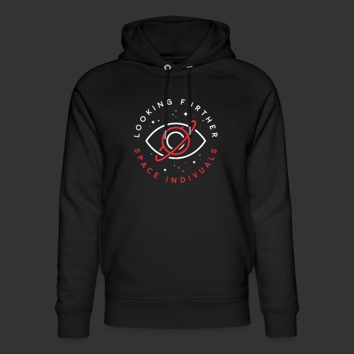 Space Individuals - Looking Farther Black - Unisex Organic Hoodie by Stanley & Stella