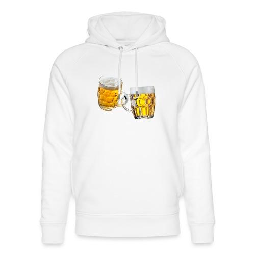 Boccali di birra - Felpa con cappuccio ecologica unisex di Stanley & Stella