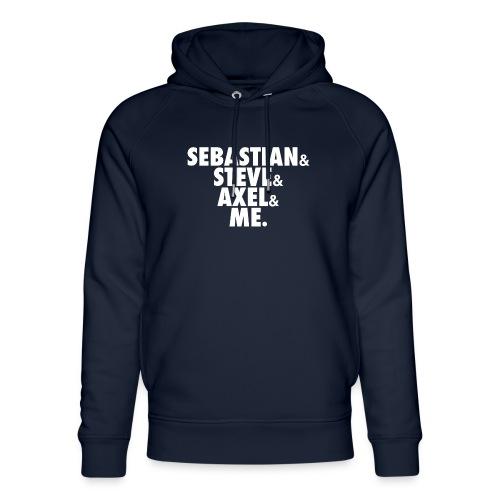 BEATSAUCE House Mafia T-shirt - Felpa con cappuccio ecologica unisex di Stanley & Stella