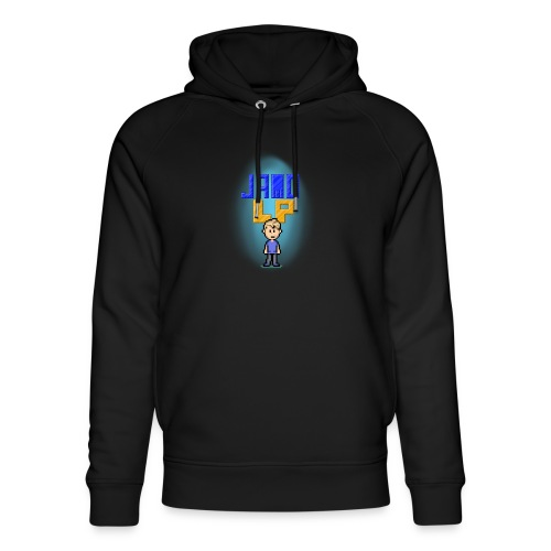 Pixel Jamo - Stanley & Stella unisex hoodie af økologisk bomuld