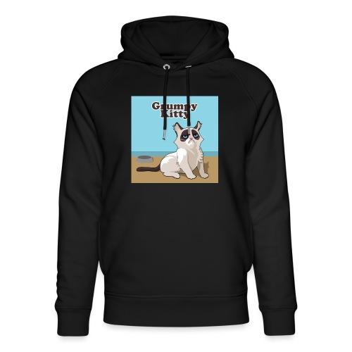 Grumpy Kitty - Uniseks bio-hoodie van Stanley & Stella