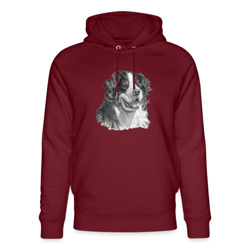 Bernese mountain dog - Stanley & Stella unisex hoodie af økologisk bomuld
