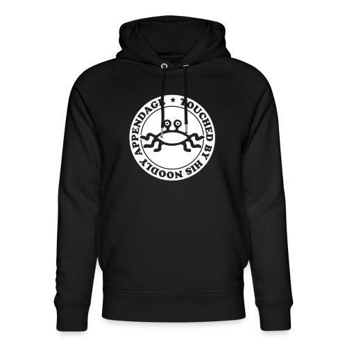 Touched by His Noodly Appendage - Unisex Organic Hoodie by Stanley & Stella