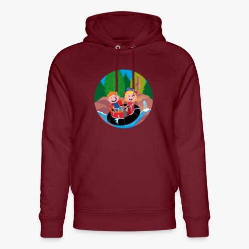 Themepark: Rapids - Uniseks bio-hoodie van Stanley & Stella