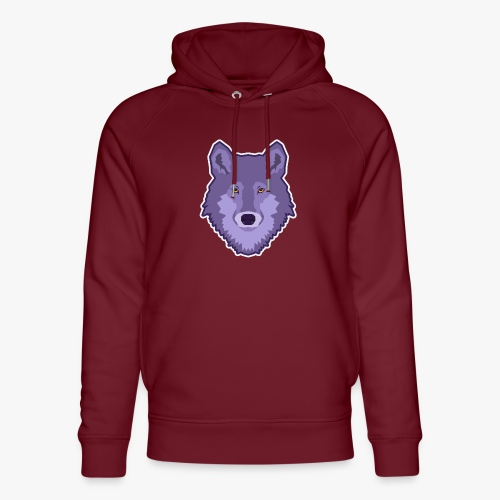Spirit Wolf - Stanley & Stella unisex hoodie af økologisk bomuld