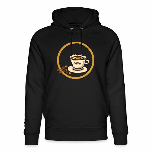 Kaffeeemblem - Unisex Bio-Hoodie von Stanley & Stella
