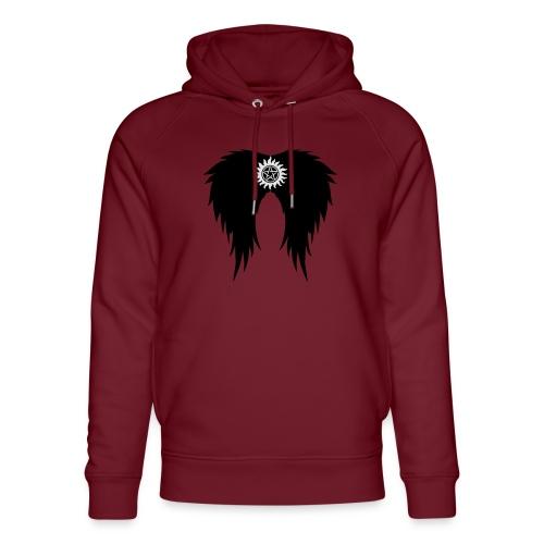 Supernatural wings (vector) Hoodies & Sweatshirts - Unisex Organic Hoodie by Stanley & Stella