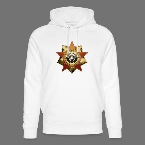 Cosmonaut Medal - Unisex Organic Hoodie by Stanley & Stella