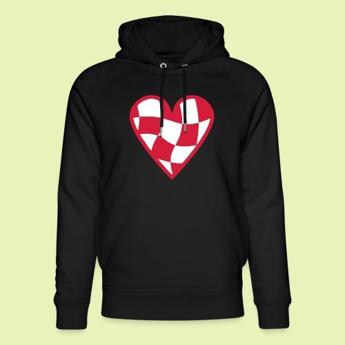 Brabant hart - Uniseks bio-hoodie van Stanley & Stella