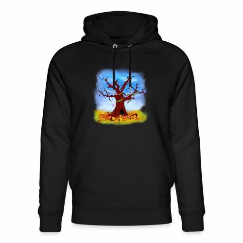Tree spirits - Ekologiczna bluza z kapturem typu unisex Stanley & Stella