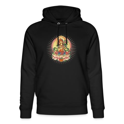 Tara Tibet Buddhismus Lotus Meditation Yoga - Unisex Bio-Hoodie von Stanley & Stella