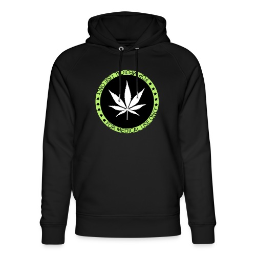 HEMP FOR MEDICAL USE ONLY - Unisex Bio-Hoodie von Stanley & Stella