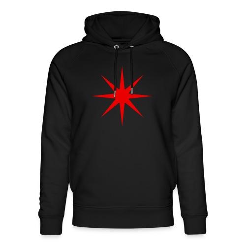 Roter Stern - Unisex Bio-Hoodie von Stanley & Stella