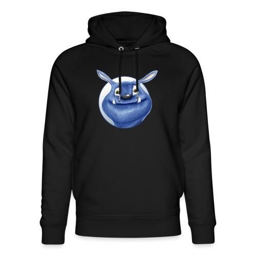 blaues Monster - Unisex Bio-Hoodie von Stanley & Stella