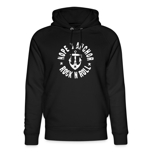 HOPE & ANCHOR-Rock´n´Roll - Unisex Bio-Hoodie von Stanley & Stella