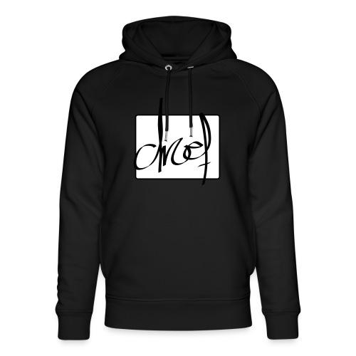Droef.Gent logo zwart - Uniseks bio-hoodie van Stanley & Stella
