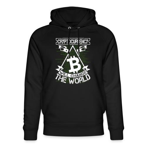 cryptocurrency - Uniseks bio-hoodie van Stanley & Stella