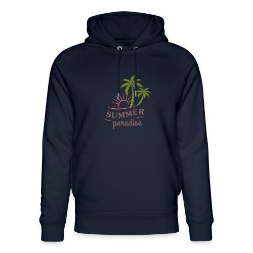 Summer paradise - Unisex Organic Hoodie by Stanley & Stella