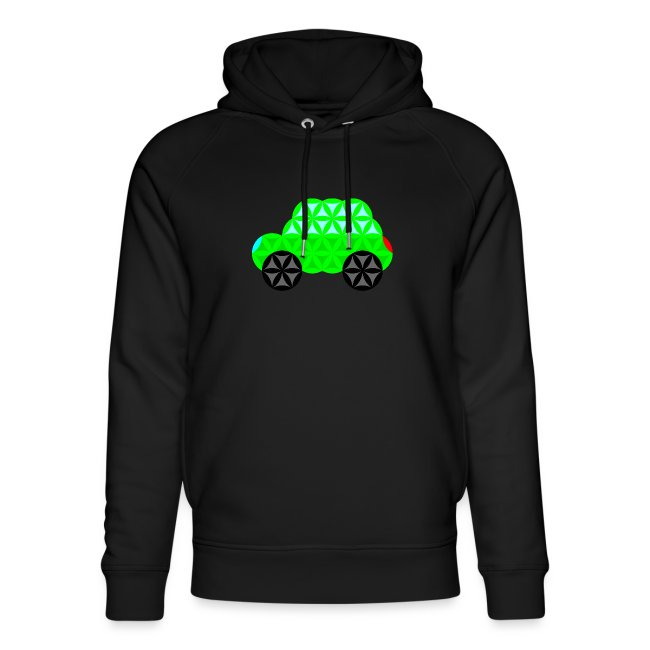 The Car Of Life - 01, Sacred Shapes, L/Green.