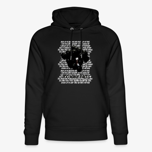Too many faces (NF) - Unisex Organic Hoodie by Stanley & Stella