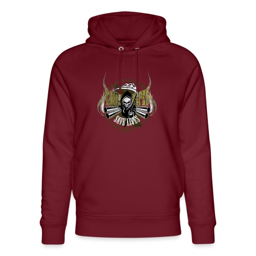 Kabes Loud Pipes T-Shirt - Unisex Organic Hoodie by Stanley & Stella
