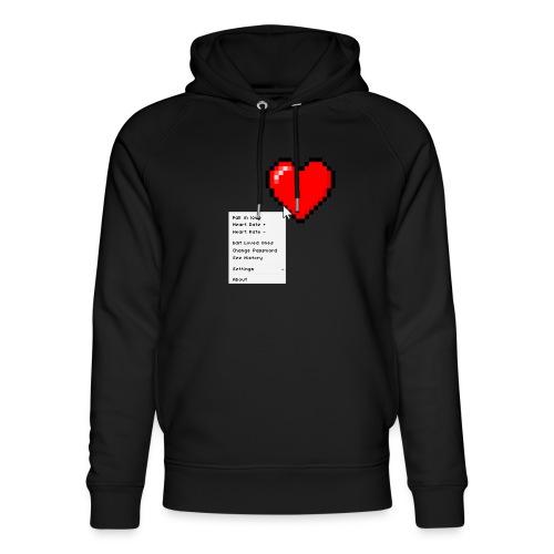 Options of the heart - Stanley & Stella unisex hoodie af økologisk bomuld