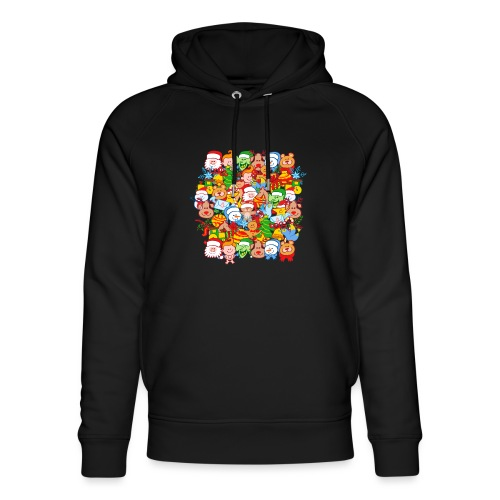 All are ready for Christmas, to celebrate in big! - Unisex Organic Hoodie by Stanley & Stella