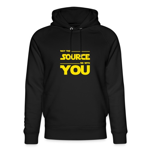 May Source Be With You für Programmierer - Unisex Organic Hoodie by Stanley & Stella