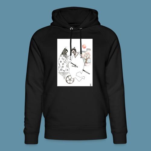 Samurai copia jpg - Felpa con cappuccio ecologica unisex di Stanley & Stella