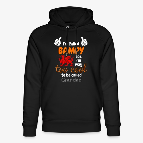 I'm Called BAMPY - Cool Range - Unisex Organic Hoodie by Stanley & Stella