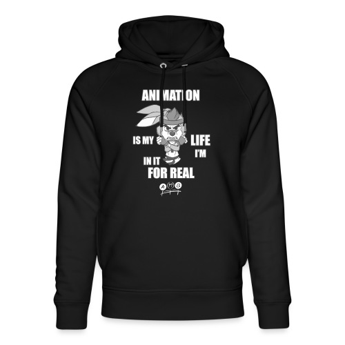 AMB Animation - In It For REAL - Unisex Organic Hoodie by Stanley & Stella