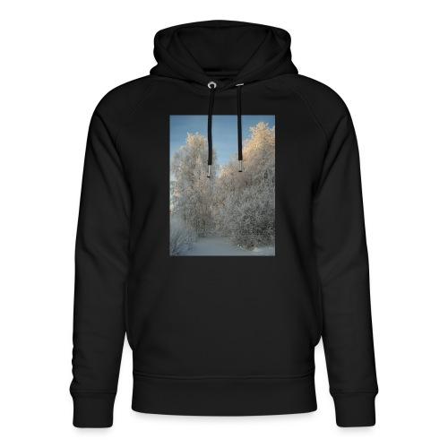 Talviset puut - Stanley & Stellan unisex-luomuhuppari